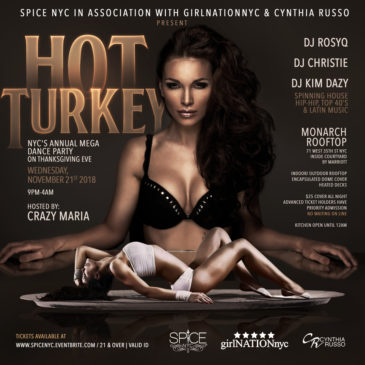Thanksgiving Eve 2018-HOT TURKEY-  Rooftop Party!