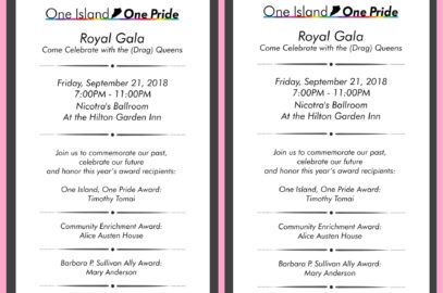 9/21/2018 One Island One Pride Royal Gala