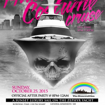 Halloween Costume Yacht Cruise-Sunset Sail