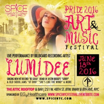 NYC 2016 Pride Art & Music Festival | June 18
