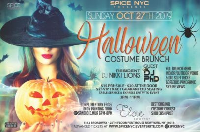 Sun. Oct. 27th 2019 | Annual Halloween Costume Brunch