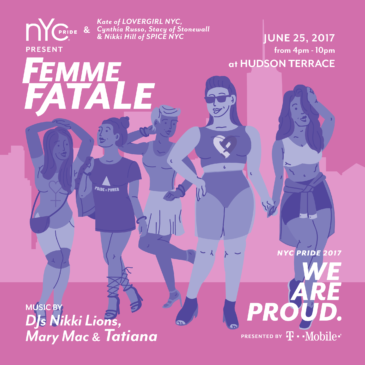 Sunday June 25th After March Party | FEMME FATALE