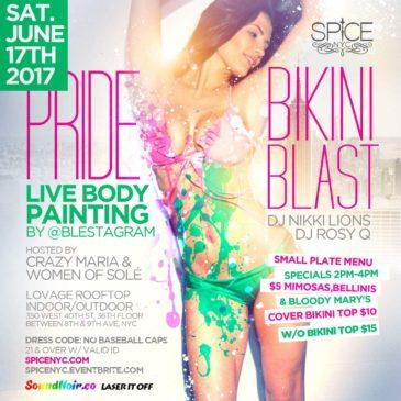 PRIDE Bikini Blast-Sat June 17