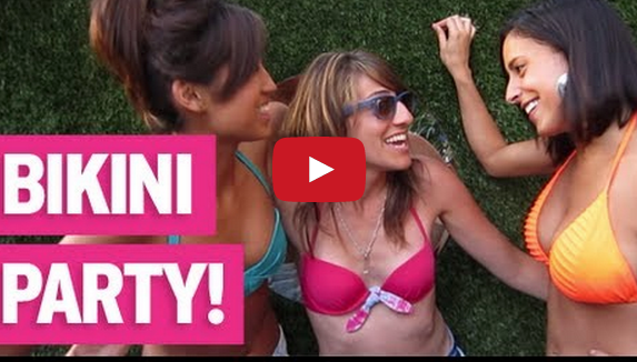 Girlfriends Lesbian Bikini Brunch Video –  A SPICE NYC Event