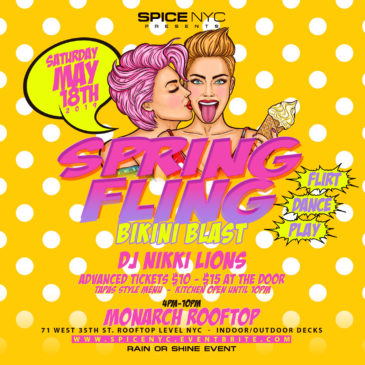 5-18-2019 | Spring Fling BIKINI BLAST Rooftop Dance Party