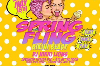 5-18-2019   Spring Fling BIKINI BLAST Rooftop Dance Party