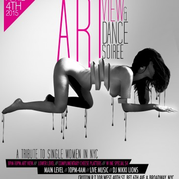 Art View & Dance Soiree-New Event  April 4th 2015