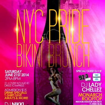 Pride Bikini Brunch